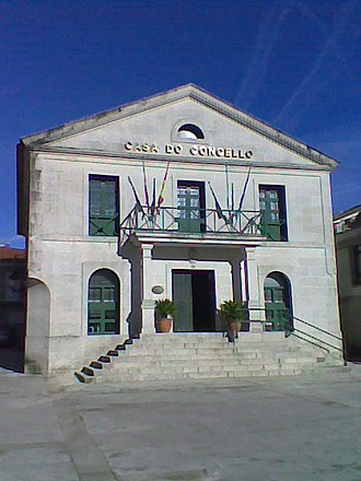 Cerdedo - Image: Casa consistorial de Cerdedo