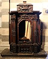 Casale monferrato, duomo, interno, confessionali del xvi-xvii secolo 01.jpg