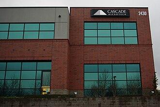 Cascade Microtech - Former company headquarters in Hillsboro