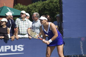 Casey Dellacqua - At the 2008 US Open