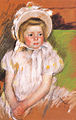 Cassatt Mary Simone in a White Bonnet 1901.jpg