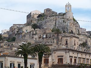 Modica - The Castle of the Counts of Modica.