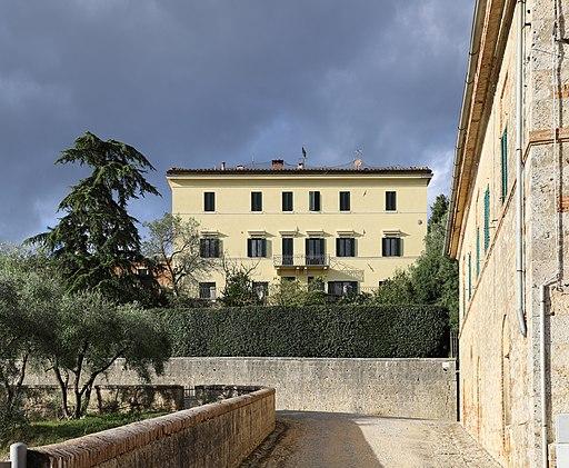 La monumentale Villa Bichi-Ruspoli-Forteguerri, Radi di Creta, (Monteroni d'Arbia)