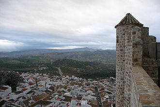 Olvera - Olvera from its castle