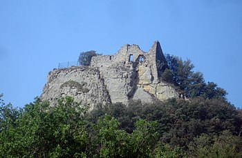 Restos del Castillo de Orís
