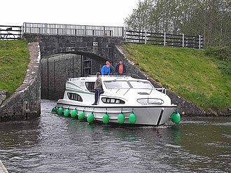 Shannon–Erne Waterway - Castlefore Lock on the Shannon-Erne Waterway