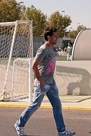 Casto (footballer) - Casto as a Betis player in 2011
