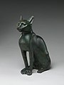 Cat Statuette intended to contain a mummified cat MET DP244252.jpg