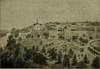 Saint Mary's College (Indiana) - Campus in 1903