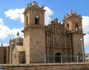 Ayaviri, Melgar - The Cathedral of Saint Francis of Assisi.