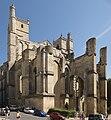 Cathédrale Saint-Just de Narbonne - exposition Nord Ouest.jpg