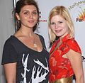 Caytlin Borgen, Caroline Macey at 2007 Hollywood Cure for Pain Benefit 1.jpg
