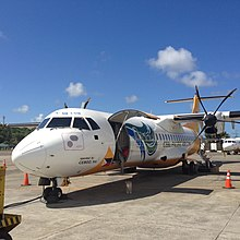 Cebu Pacific ATR-72 RP-C7251 at Caticlan-Boracay (25488905746).jpg
