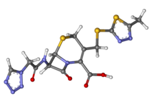 Cefazolin ball-and-stick.png
