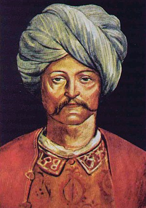 Sultan Cem - Cem's portrait painted by Pinturicchio (Bernardino di Betto).