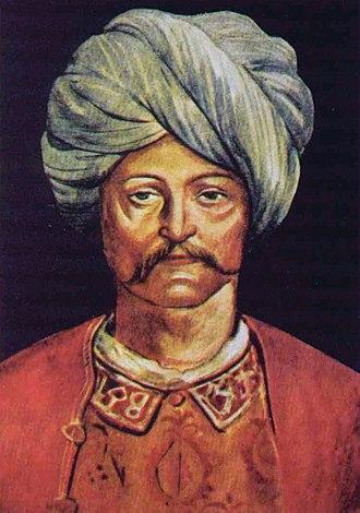 Sultan Cem - Cem's portrait painted by Pinturicchio (Bernardino di Betto).