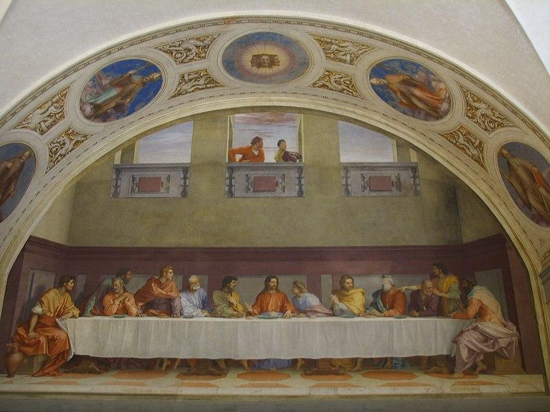 Arquivo: Cenacolo di San Salvi di Andrea del Sarto.JPG