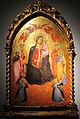 Cennino cennini, madonna col bambino tra angeli e santi, tavola, 82x58 cm, coll privata.JPG