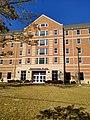 Centennial Place Residence Hall rear entrance.jpg