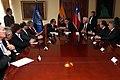 Ceremonia de Deposito del Instrumento de Ratificación al Protocolo Adicional al Tratado Constitutivo de la Unión de Naciones Suramericanas UNASUR. Sobre Compromiso con la Democracia por Parte de la República de Chile (6982664609).jpg
