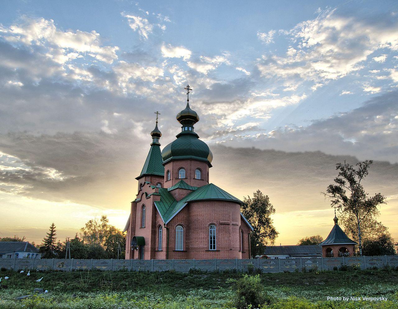 Церковь Успенка