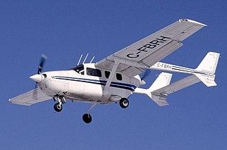 Cessna Skymaster - A Cessna 337G Skymaster