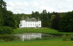 D'Udekem - Losange Castle, private property of the dowager Countess Patrick d'Udekem d'Acoz