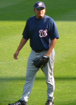 Chad Cordero - Cordero with the Nationals in 2008.