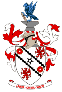 Chadderton Urban District Council - coat of arms.png