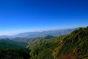 Chakrata - View from Deoban of Chakrata