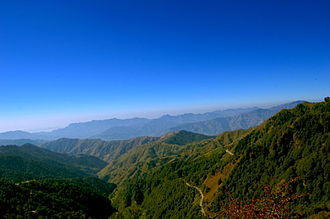 Chakrata - View from Deoban of Chakrata