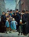 Charles-Gustave Housez La petite fille perdue dans Paris 1877.jpg
