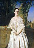 Portrait de la comtesse de La Tour Maubourg par Théodore Chassériau.