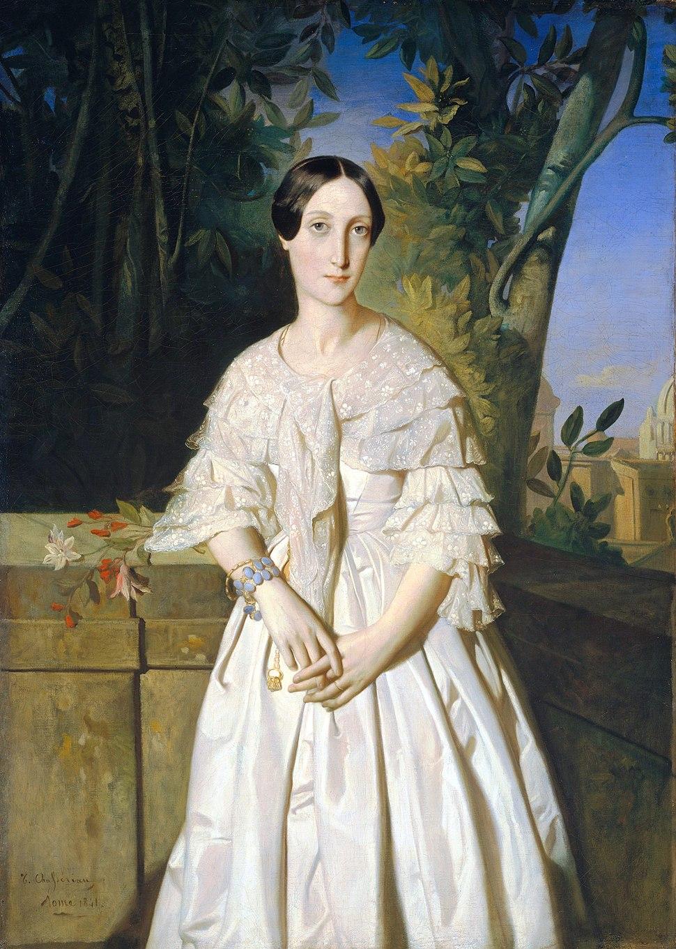 Chassériau - Comtesse de La Tour-Maubourg (née Marie-Louise-Charlotte-Gabrielle Thomas de Pange, 1816–1850)