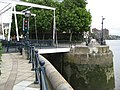 Chelsea Harbour lock bridge - geograph.org.uk - 863348.jpg