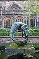 Chester Cathedral - The Water of Life sculpture by Stephen Broadbent in the cloister.jpg