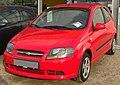 Chevrolet Kalos 3-Türer Facelift front.JPG