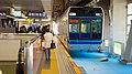 Chiba monorail 1000 series at Chiba station (158381079).jpg