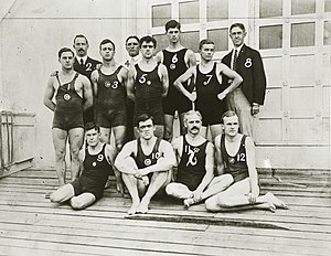 Chicago Athletic Club swimming team at the 1904 Olympics.jpg