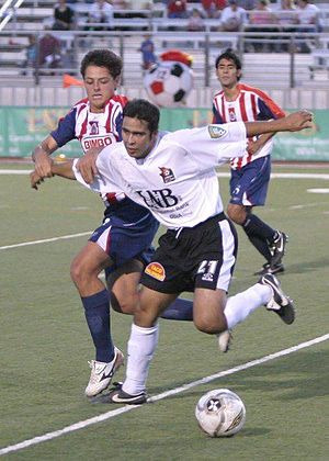 "Laredo Heat - Javier ""Chicharito"" Hernandez playing against the Laredo Heat Soccer Club on May 24, 2006"