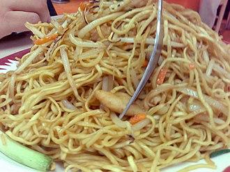 Chow mein - Chicken cube chow mein