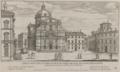 Chiesa dedicata al nome di Giesu dei Padre Guesuiti nel rione della Pigna by Giovanni Battista Falda (1667-1669).png