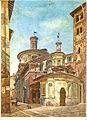 Chiesa di Santa Maria presso San Satiro - Luigi Bisi (seconda metà XIX sec) vista da via Mazzini.jpg
