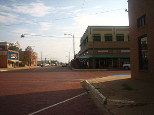 National Register of Historic Places listings in Childress County, Texas - Image: Childress streets IMG 0687