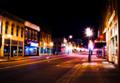 Chippewa Falls Nighttime downtown.png