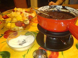 Fondue - Chocolate Fondue