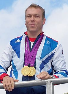 Chris Hoy Scottish cyclist