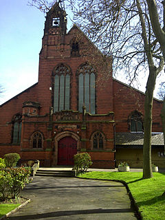 Christ Church, Moss Side, Manchester Church in Manchester, United Kingdom