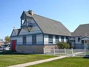 National Register of Historic Places listings in Cheyenne County, Nebraska - Image: Christ Episcopal Sidney NE