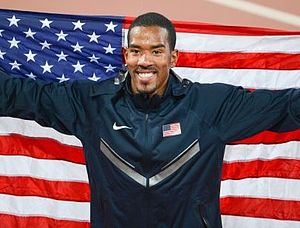 Christian Taylor (athlete) - Taylor after his victory in Beijing 2015